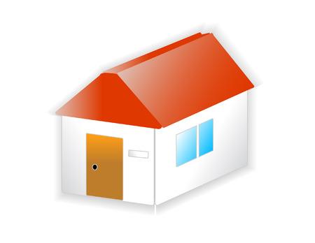 simple house: simple house