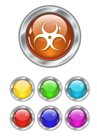 Color web buttons. Vector illustration Stock Vector - 5621093