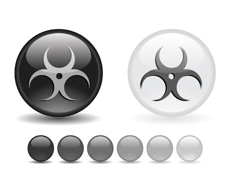 Internet shiny buttons. Vector illustration. Stock Vector - 5805351