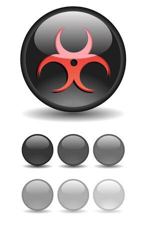 Internet shiny buttons. Vector illustration. Stock Vector - 5805324