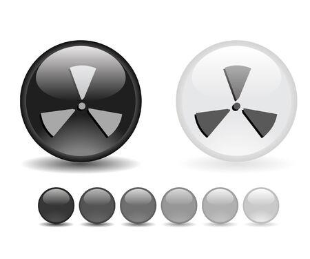 Internet shiny buttons. Vector illustration. Stock Vector - 5805335