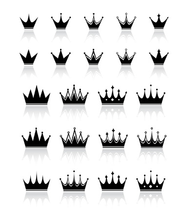 aristocracy: crown Illustration