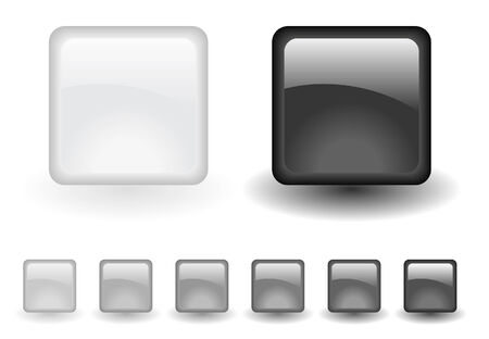 grey buttons Vector