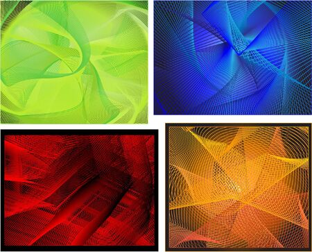 abstract backgrounds, vector Stock Photo - 6838451