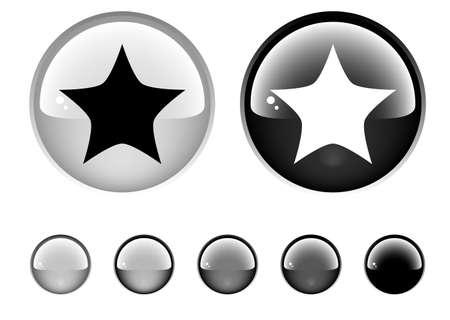 Buttons for web Stock Photo - 6945635