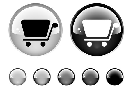 Buttons for web Stock Photo - 6945642