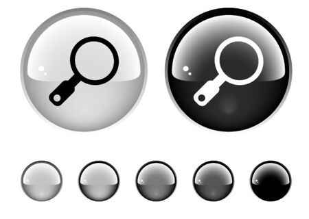 Buttons for web Stock Photo - 6945639