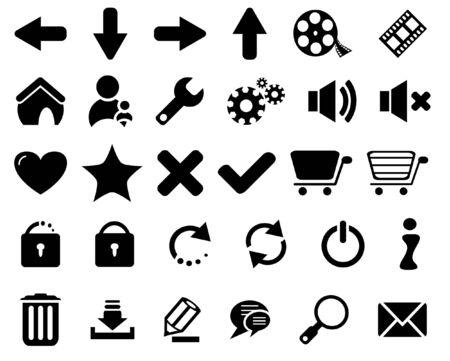 set of web icons Stock Photo - 6945694