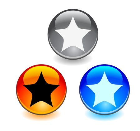 Buttons for web photo