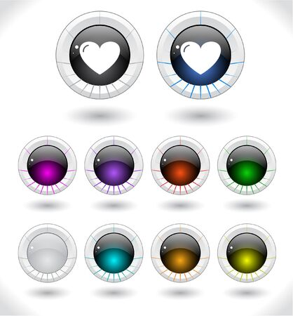 Web buttons illustration. access, aqua, black, blank, blue, button, circle, close, color, colorful, glass, glassy, glossy, gradient, graphic, green, grey, icon, illustration, internet, isolated, light, lock, open, padlock, plastic, purple, red, se illustration