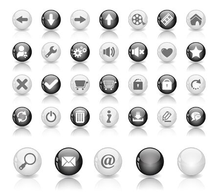 Web buttons Stock Photo - 7288027