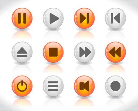 media buttons photo