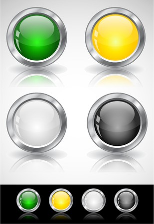 Web buttons Stock Photo - 7288007