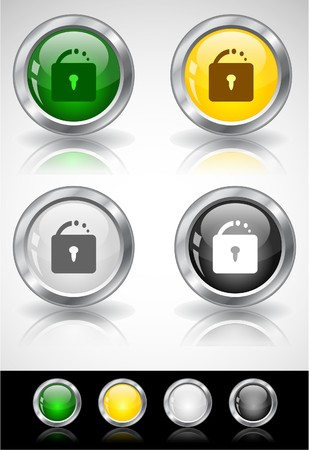 Web buttons Stock Photo - 7288028