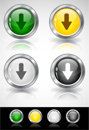 Web buttons Stock Photo - 7288025