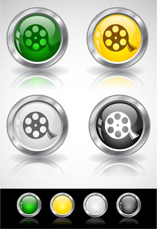 Web buttons. Stock Photo - 7288077