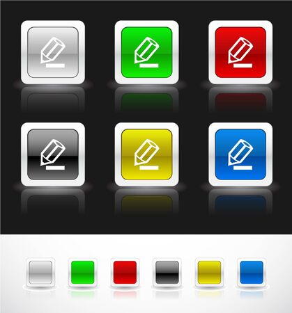 Web buttons Stock Photo - 7287995