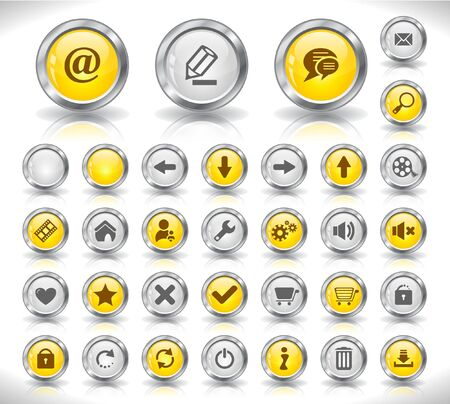 Web buttons. Stock Photo - 7300606