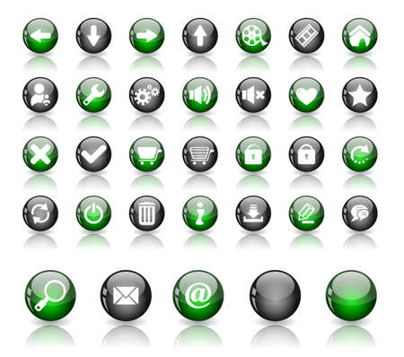 Web buttons.  photo