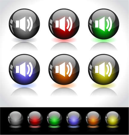 Web buttons. photo