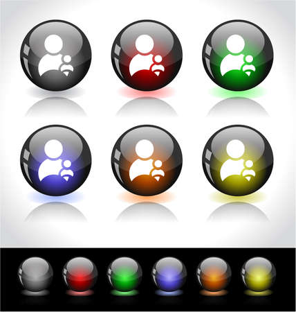 Web buttons. Stock Photo - 7300484