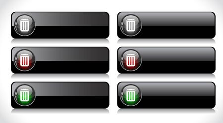 Web buttons.  Stock Photo - 7300666