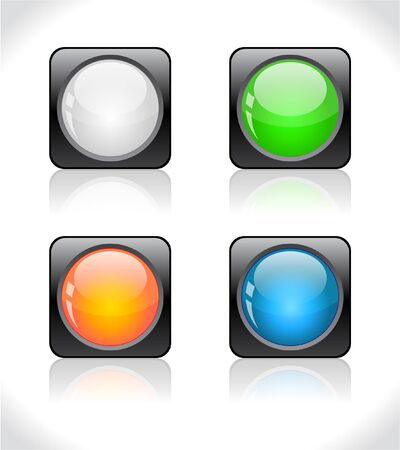 Buttons for web. Stock Photo - 7330324