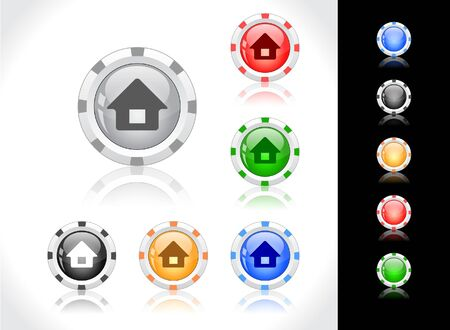 Buttons for web. Stock Photo - 7380446