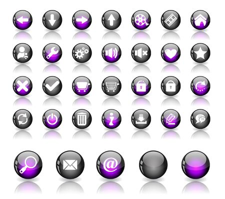 Web buttons. Stock Photo - 7380223