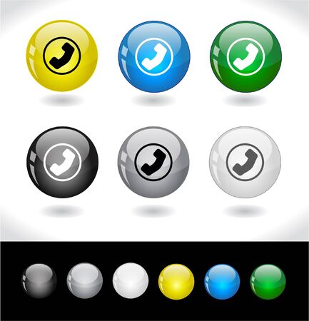 Buttons for web.  photo