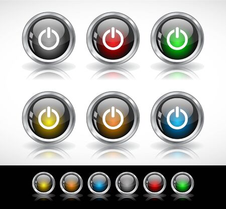 Buttons for web.  Stock Photo - 7421608