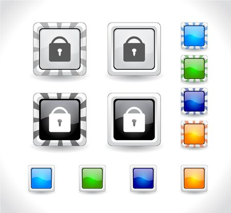 Buttons for web. Stock Photo - 7588023