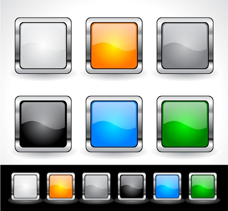 Buttons for web. Stock Photo - 7588126