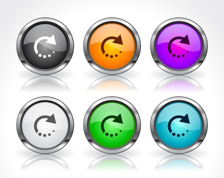 Buttons for web. Stock Photo - 7588657