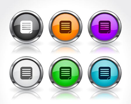 Buttons for web. Stock Photo - 7588663