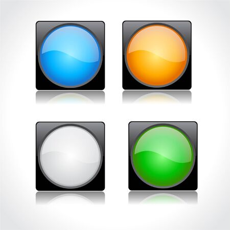 Buttons for web. Vector. Stock Photo - 7714495