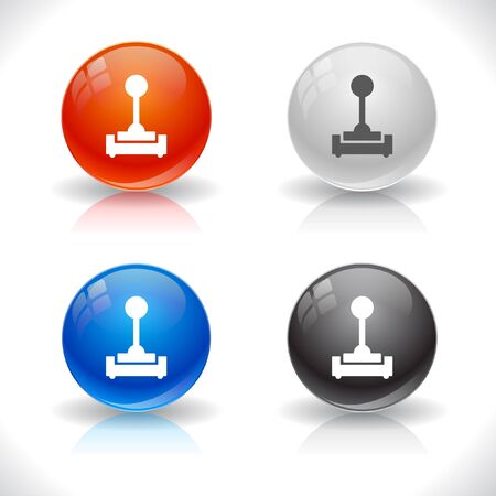 rn3d: Buttons for web.  Stock Photo