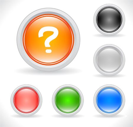 rn3d: Buttons for web. Vector. Stock Photo