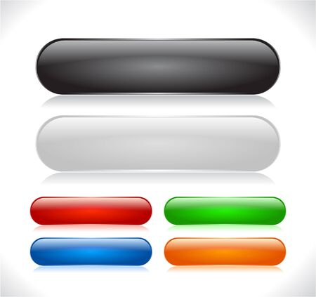 Buttons for web Illustration