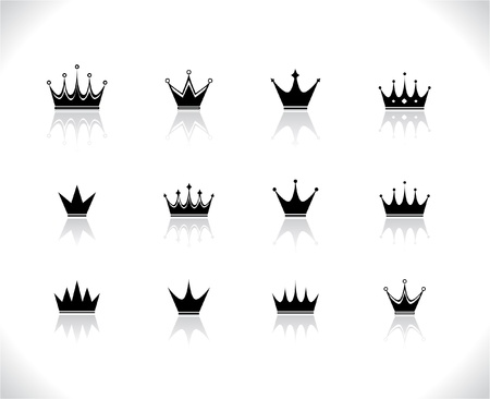 Crowns Stock Vector - 8462322