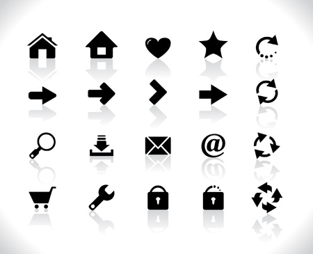 Icons Stock Vector - 8462337