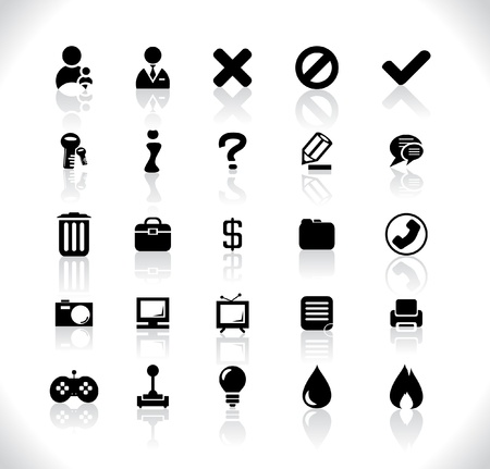 Icons Stock Vector - 8462338
