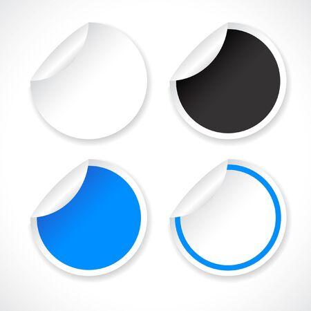 Stickers Stock Vector - 8772806