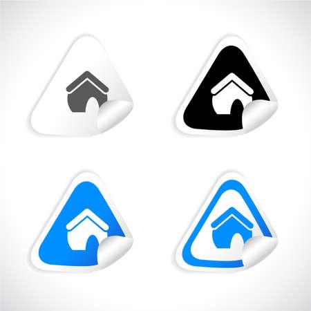 Stickers Stock Vector - 8772961