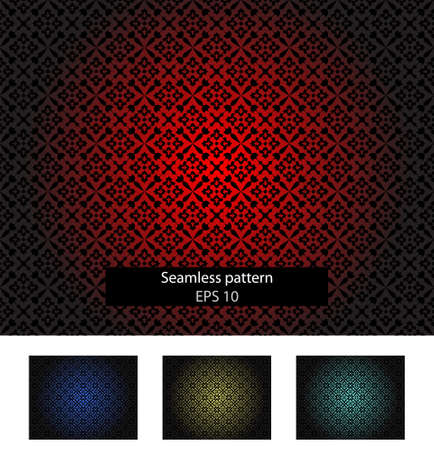 Abstract seamless background, different colors Vector