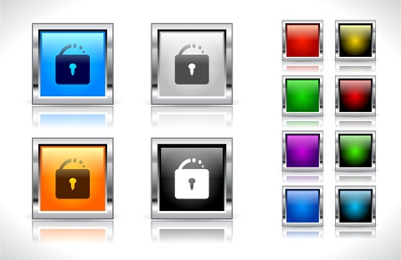 Buttons for web. Vector illustration. Vector