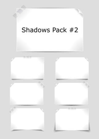 Set of different complex shadows Stock Vector - 9354503