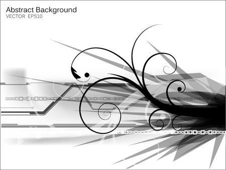 eps10 vector abstract futuristic design Vector