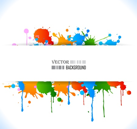 Colour cool grunge music poster. Vector illustration. Vector