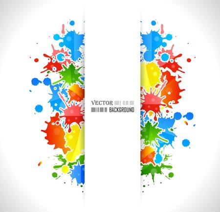 Colour cool grunge music poster. Vector illustration. Illustration